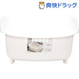 モデルノ 洗い桶 ホワイト HB-1975(1コ入)【パール金属】
