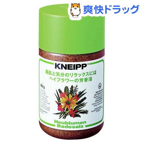 クナイプ バスソルト ヘイフラワー(850g)【クナイプ(KNEIPP)】