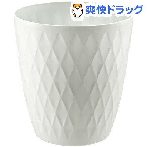 キンバリー 鉢カバー 10号 ホワイト(1コ入)【キンバリー】