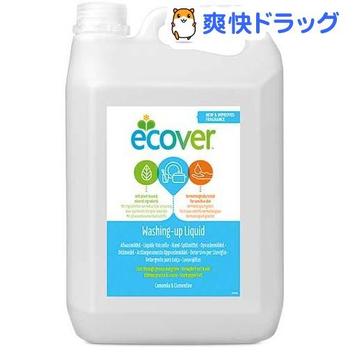 エコベール 食器用洗剤 カモミールの香り(5L)【エコベール(ECOVER)】【送料無料】