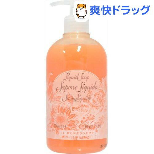 RUDY イルベネッセレ リキッドソープ(洗浄料) オレンジフラワーズ(500mL)【RUDY(ルディ)】
