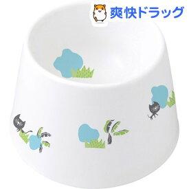 食べやすい陶製食器 猫水用(1コ入)【マルカン(ペット)】