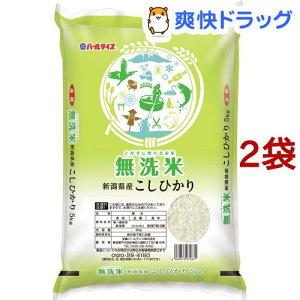 令和2年産 無洗米 新潟県産コシヒカリ(5kg*2袋セット/10kg)【パールライス】
