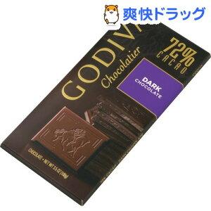 【訳あり】ゴディバ タブレット ダークチョコレート(100g)【ゴディバ(GODIVA)】