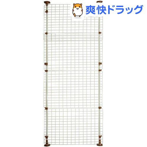 マルカン 猫網戸脱走防止フェンス Lサイズ(1コ入)