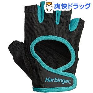 Harbinger(ハービンジャー) パワーグローブ 女性用 ブラック*ブルー Mサイズ 16155(1双)