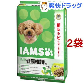 アイムス 成犬用 健康維持用 チキン 小粒(12kg*2コセット)【dalc_iams】【m3ad】【アイムス】[ドッグフード]