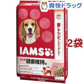 アイムス 成犬用 健康維持用 ラム&ライス 小粒(12kg*2コセット)【IAMS1120_lamb04】【dalc_iams】【m3ad】【アイムス】[ドッグフード]