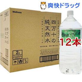 四万十の純天然水(2L*12本入セット)