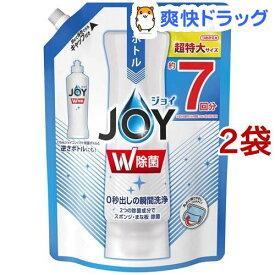 除菌ジョイ コンパクト 食器用洗剤 詰め替え 超特大(960ml*2袋セット)【stkt06】【ジョイ(Joy)】
