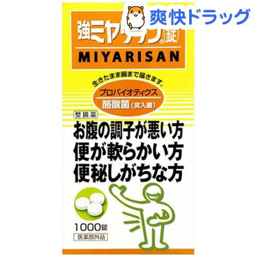 強ミヤリサン 錠(1000錠入)【ミヤリサン】