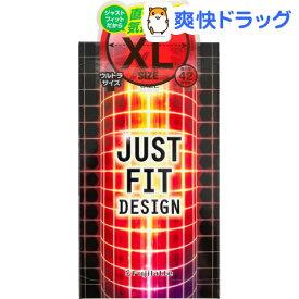 コンドーム ジャストフィットXL スーパーラージ(12コ入)【ジャストフィット】[避妊具]