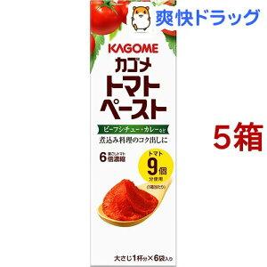 カゴメ トマトペースト ミニパック(18g*6コ入5コセット)【カゴメ】