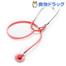 フォーカル シングルヘッド聴診器 FC-200 レッド(1コ入)【フォーカル】