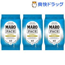 MARO デザインフェイスシート マンハッタン ビッグアップルの香り(42枚*3個セット)【マーロ(MARO)】