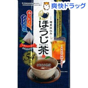 のむらの茶園 ほうじ茶 ティーバッグ(3g*54袋入)