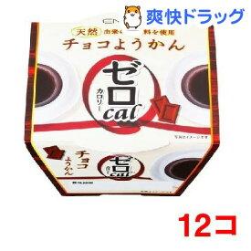 遠藤製餡 ゼロカロリー チョコようかん(90g*12コセット)