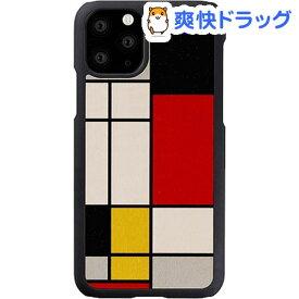 マン&ウッド iPhone 11 Pro Max 天然木ケース Mondrian Wood I16857i65R(1個)【マン&ウッド(Man&Wood)】