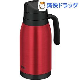 サーモス フィールドポット 1.5L クリアレッド THY-1500 CL-R(1コ入)【サーモス(THERMOS)】