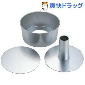 シフォン&スポンジ型 17cm KP6(1コ)【オークス】