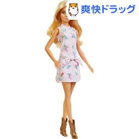 バービー ファッショニスタ フラワーワンピース FXL52(1個)【バービー人形】