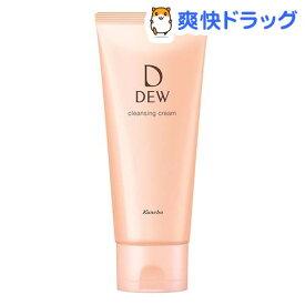 DEW クレンジングクリーム(125g)【DEW(デュー)】[保湿 洗顔 メイク落とし]