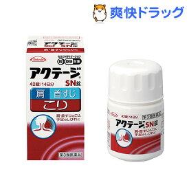 【第3類医薬品】アクテージSN錠(セルフメディケーション税制対象)(42錠入)【アクテージ】