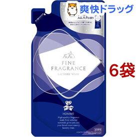 ファーファ ファインフレグランス ウォッシュ オム 詰替用(360g*6袋セット)【ファーファ】