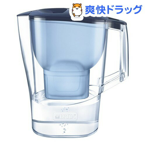 ブリタ アルーナ XL ブルー マクストラプラスカートリッジ1個付き 日本正規品(1セット)【ブリタ(BRITA)】【送料無料】
