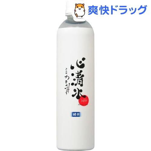 ミネラルウォーター 心清水 スリム(500mL*24本入)【心清水】【送料無料】