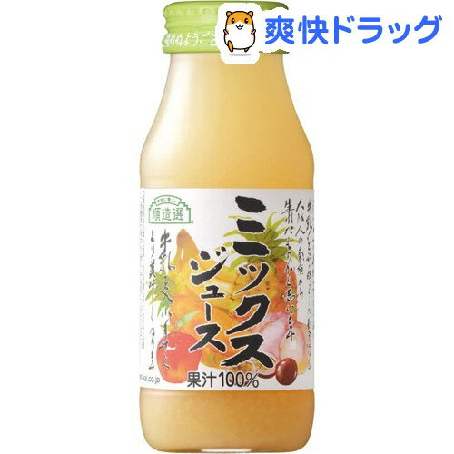 マルカイ 順造選 ミックスジュース(180mL)【順造選】