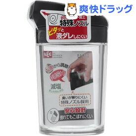 デリ DL プッシュ式しょうゆ差し S ブラック(1コ入)【デリ(キッチン用品)】