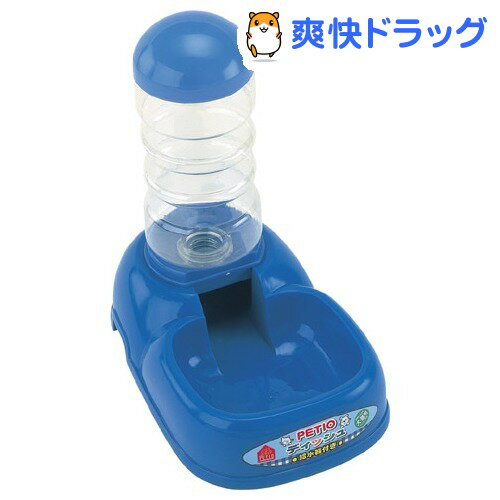 ペティオ ディッシュ給水器付ブルー(1コ入)【180105_soukai】【180119_soukai】【ペティオ(Petio)】