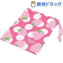 ハンナフラ コップ袋 いちご(1コ入)【ハンナフラ】[キッチン用品]