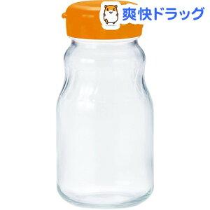 漬け上手 フルーツシロップびん 日本製 オレンジ 930ml I-77827-OR-JAN-S(1個)