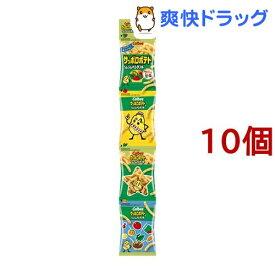サッポロポテト つぶつぶベジタブルミニ4(36g*10コ)【サッポロポテト】