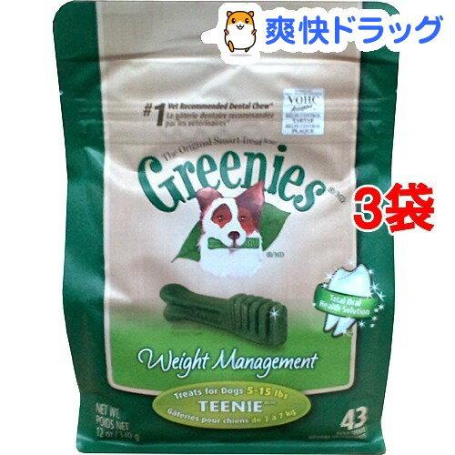 グリニーズ ウェイトマネジメント ティーニー(43本入*3コセット)【グリニーズ(GREENIES)】【送料無料】