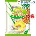 蒟蒻畑 ララクラッシュ パイナップル味(24g*8コ入*12セット)【蒟蒻畑】