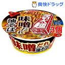 エースコック 厚切太麺 こってり味噌だれ油そば(3個セット)【エースコック】