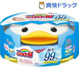 グーン 肌にやさしいおしりふき 本体(70枚入)【グーン(GOO.N)】