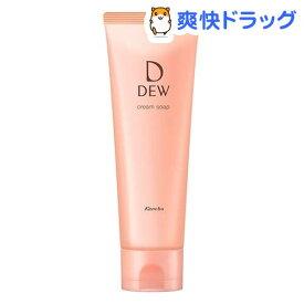 DEW クリームソープ(125g)【DEW(デュウ)】[保湿 洗顔フォーム]
