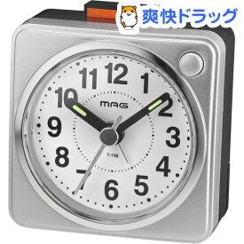目覚まし時計 マグ ミニスター T-736 SM-Z(1台)【マグ】
