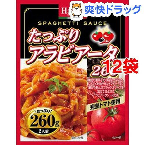 ハチ食品 たっぷりアラビアータ260(260g*12コ)