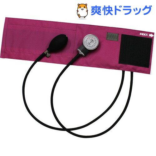 フォーカルアネロイド血圧計FC-100Vナイロンカフマゼンダ
