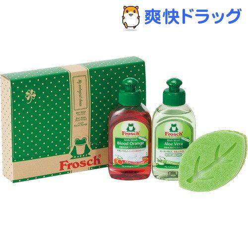 フロッシュ 食器用洗剤 リーフスポンジギフト(1セット)【フロッシュ(frosch)】