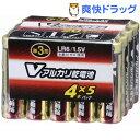 アルカリV電池 単3(20本入)