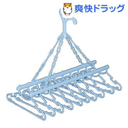 ナチュラルベーシック ベビーキッズ用10連ハンガー(1コ入)