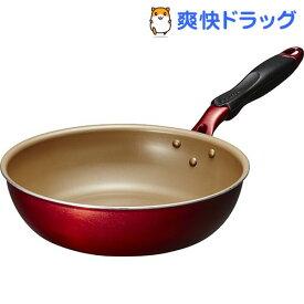 エバークック アルファ 炒め鍋 26cm EFPADE26RD(1コ入)【エバークック(evercook)】