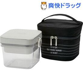 サーモス 保冷サラダコンテナー DJR-950 BK ブラック(1セット)【サーモス(THERMOS)】[お弁当箱]