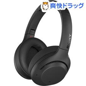 ソニー ワイヤレスノイズキャンセリングステレオヘッドセット WH-XB900N BC ブラック(1個入)【SONY(ソニー)】